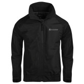 Black Charger Jacket-University Logo - Flat
