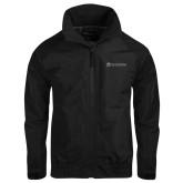 Black Charger Jacket-University Logo - Flat