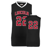 Replica Black Adult Basketball Jersey-#22