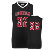 Replica Black Adult Basketball Jersey-#32