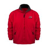 Red Survivor Jacket-Red Lions Logo