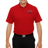 Under Armour Red Performance Polo-Red Lions Stacked