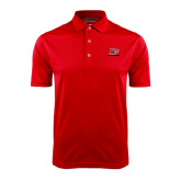 Red Dry Mesh Polo-Red Lions Logo