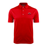 Red Dry Mesh Polo-Red Lions Stacked