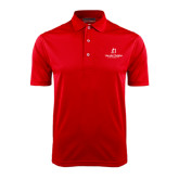 Red Dry Mesh Polo-University Logo