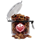 Deluxe Nut Medley Round Canister-Red Lions Logo