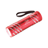 Astro Red Flashlight-Red Lions Logo Engraved