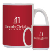 Full Color White Mug 15oz-University Logo