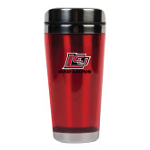 Solano Acrylic Red Tumbler 16oz-Red Lions Logo