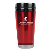 Solano Acrylic Red Tumbler 16oz-University Logo