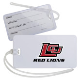 Luggage Tag-Red Lions Logo
