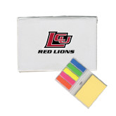 Micro Sticky Book-Red Lions Logo