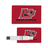 Card USB Drive 4GB-Red Lions Logo
