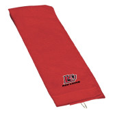 Red Golf Towel-Red Lions Logo