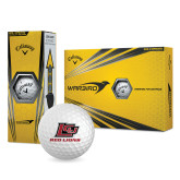 Callaway Warbird Golf Balls 12/pkg-Red Lions Logo