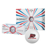 Callaway Supersoft Golf Balls 12/pkg-Red Lions Logo