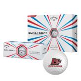 Callaway Supersoft Golf Balls 12/pkg-Red Lions Logo