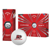 Callaway Chrome Soft Golf Balls 12/pkg-Red Lions Logo