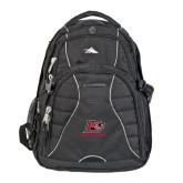 High Sierra Swerve Black Compu Backpack-Red Lions Logo