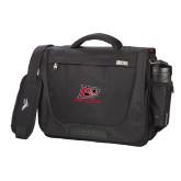 High Sierra Black Upload Business Compu Case-Red Lions Logo