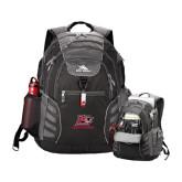 High Sierra Big Wig Black Compu Backpack-Red Lions Logo