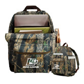 Heritage Supply Camo Computer Backpack-Red Lions Logo
