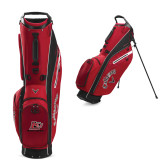 Callaway Hyper Lite 4 Red Stand Bag-Red Lions Logo