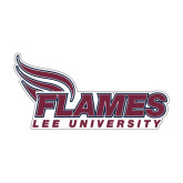 Medium Decal-Flames Lee University, 8 inches wide