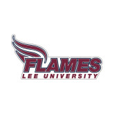 Small Decal-Flames Lee University, 6 inches wide