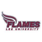 Extra Large Decal-Flames Lee University, 18 inches wide
