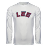 Syntrel Performance White Longsleeve Shirt-Arched Lee