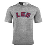 Performance Grey Heather Contender Tee-Arched Lee