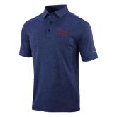 Columbia Navy Omni Wick Sunday Golf Polo-Official Logo