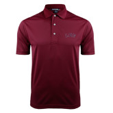 Maroon Dry Mesh Polo-Arched Lee