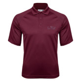 Maroon Dri Mesh Pro Polo-Arched Lee