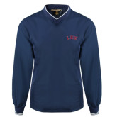 Navy Executive Windshirt-Arched Lee