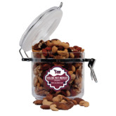 Deluxe Nut Medley Round Canister-Official Logo