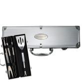 Grill Master 3pc BBQ Set-Lee University Engraved