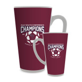 Full Color Latte Mug 17oz-Womens Soccer Champions