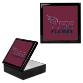 Ebony Black Accessory Box With 6 x 6 Tile-Official Logo