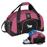 Ogio Pink Big Dome Bag-Official Logo