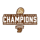 Medium Decal-2017 Patriot League Football Champions