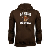Brown Fleece Hoodie-Basketball
