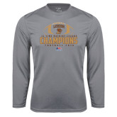 Syntrel Performance Steel Longsleeve Shirt-11-Time Patriot League Champions Football 2016