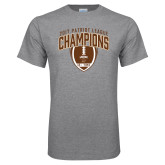 Grey T Shirt-2017 Patriot League Football Champions 2