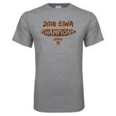 Grey T Shirt-2018 EIWA Wrestling Champions