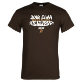 Brown T Shirt-2018 EIWA Wrestling Champions