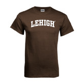 Brown T Shirt-Arched Lehigh
