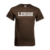 Brown T Shirt-Flat Lehigh