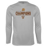 Syntrel Performance Platinum Longsleeve Shirt-2017 Patriot League Football Champions